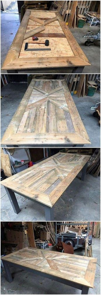 100+ Five Star Pallet Wooden Coffee Table Projects - Palletreuse.info #buildwoodtable