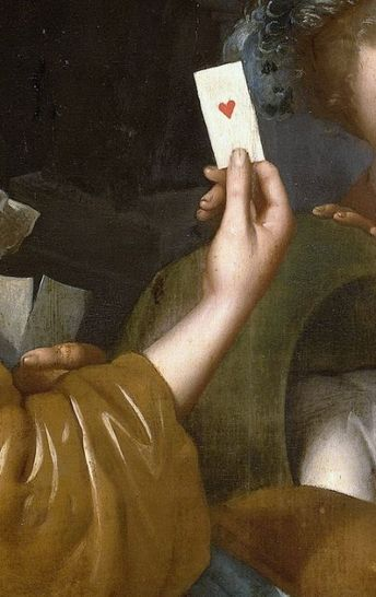 Johannes van Wijckersloot (attributed to), The Card Game on the Cradle: Allegory (detail), 1643 - 1683