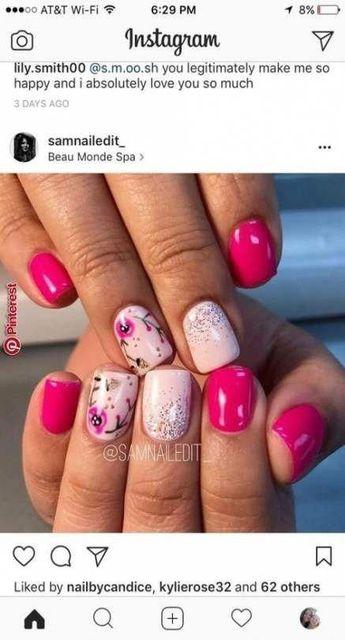 53 Ideas Fails Design Spring Pink Summer #fails #nailsspring
