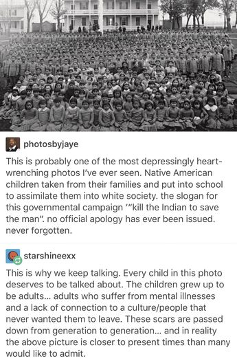 Canada apologized. Why can't the U.S. suck it up and realize history has been wrong and should be apologized for, NOT praised and repeated???