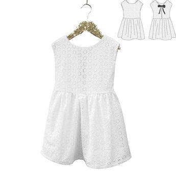 Patron de couture Robe sans manche Enfant Fille IRIS