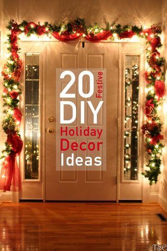 20 Dazzling DIY Christmas Decor Ideas   The Unlikely Hostess #christmasdecor # diy #christmas