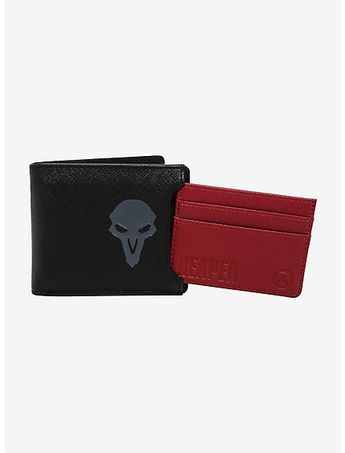 7b1fea06678 Loungefly Overwatch Reaper Cardholder   Wallet - BoxLunch Exclusive