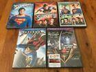 5 NEW DVDs: Superman I-IV Superman Returns  BATMAN BONUS (Forever/And Robin) #Movies