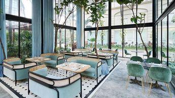 El nuevo restaurante de la marca de alta costura Harlan + Holden
