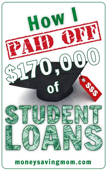 How I Paid Off $170,000 of Student Loans | Money Saving Mom®