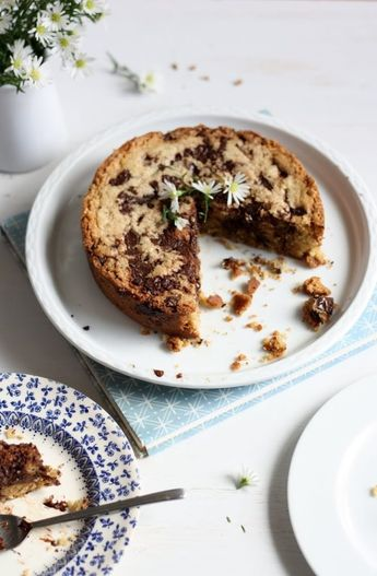 Blondie, un cookie-gâteau moelleux - Ophelie's Kitchen Book