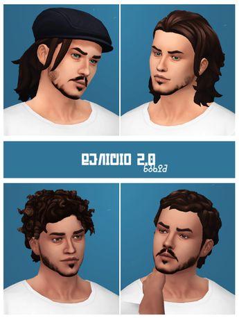 Cabelos Masculinos /Men's Hair The Sims 4