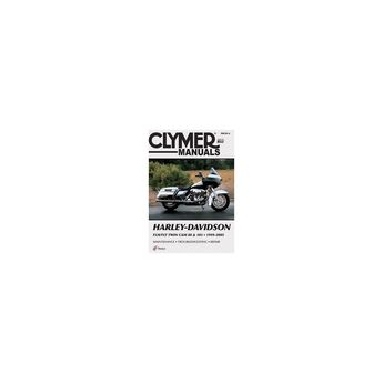 Harley-Davidson Flh/Flt Twin CAM 88 & 103 1999-2005 - (Clymer Color Wiring Diagrams) 4 Edition