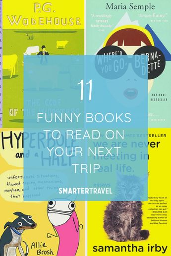 11 Funny Books to Read on Your Next Trip