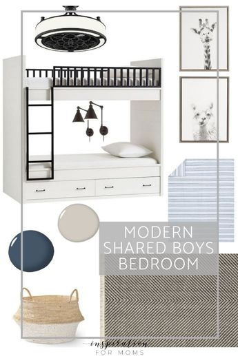 How to Decorate a Small Shared Bedroom