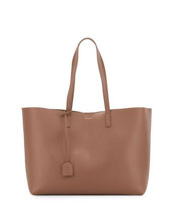 YSL Large Shopping Tote Bag, Pale Blush