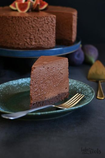 Brownie Double Chocolate Mousse Cake