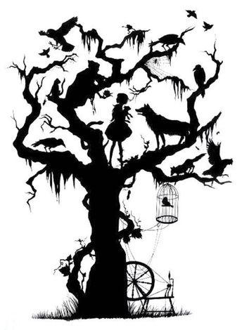 BUY 2, GET 1 FREE! Tree Halloween 434 Cross Stitch Pattern Counted Cross Stitch Chart, Pdf Format, I