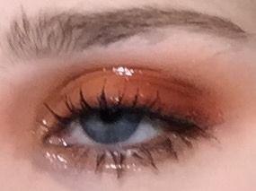 #EyeMakeupOrange