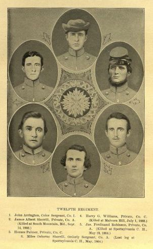 12th NC Soldiers