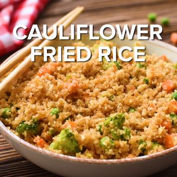 Frozen Cauliflower Rice Recipe - Princess Pinky Girl
