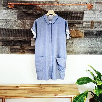 The absolute perfect denim dress! Found at Moorea Seal!