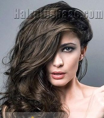 100% Human Hair Black Long Wigs Lace Front Dainty Wigs