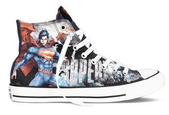 Converse Releases Chuck Taylor Comics Collection For Batman Vs. Superman Movie