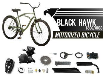 212cc Death Row Bike Engine Kit - 4-Stroke Gas Motorized Bi