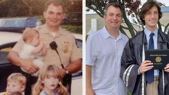 Maryland officer who helped deliver teen 18 years ago surprises him at high school graduation
