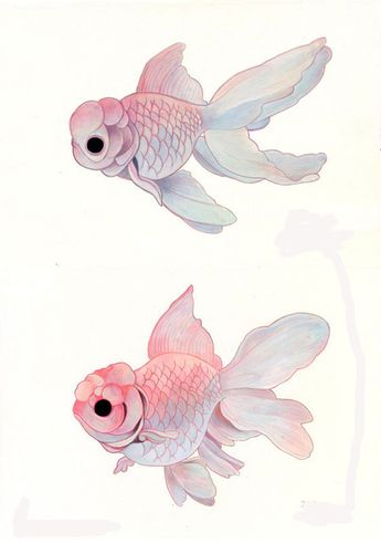 watercolor fishes — by ~hikarishimoda
