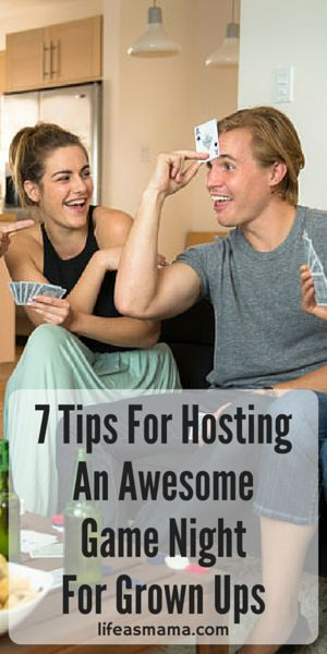 7 Tips For Hosting An Awesome Game Night For Grown Ups