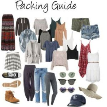 30 Easy Chic Summer Travel Packing List for Your Holiday