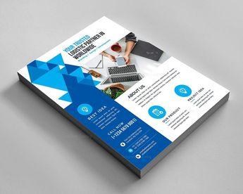 Stylish Elegant Corporate Flyer - Graphic Templates