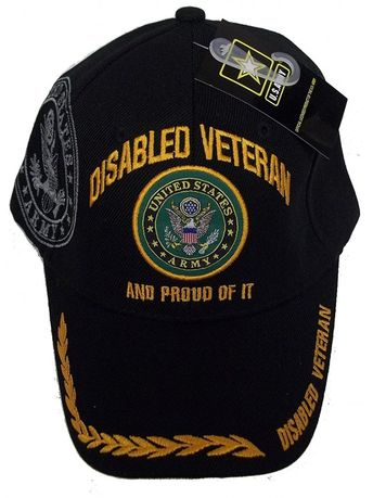 74c00535c5e74 Disabled Army Veteran Proud Of IT Baseball Style Embroidered Hat USA dav Cap  - CU12O5GUG15
