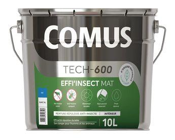 Peinture répulsive anti-insectes volants et rampants Comus Effi'Insect mat - Colorimix - 150-B - 10L - Agents actifs d'origine naturelle