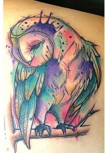 60e19e6ce06d4 Aquarela na pele: conheça o fantástico trabalho desse tatu