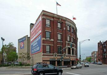 - The Polish Roman Catholic Union Building, 984 N. Millwaukee. Photo from CoStar Group Inc.
