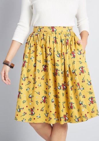 Collectif x MC Exploring Aesthetics A-Line Skirt