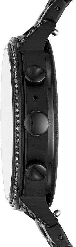 Fossil SMARTWATCHES Smartwatches Gen 4 Venture Hr Womens Black Smart Watch-Ftw6023