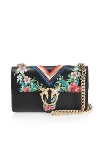 Pochette tendance à imprimé tropical // www.leasyluxe.com #fashion #tropical #leasyluxe