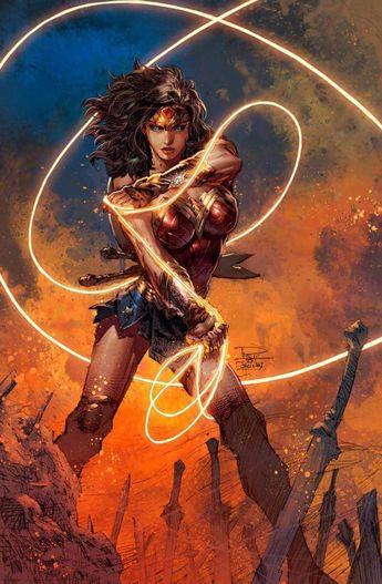 Oniric Realms — thecomicninja:   Wonder Woman by Philip Tan