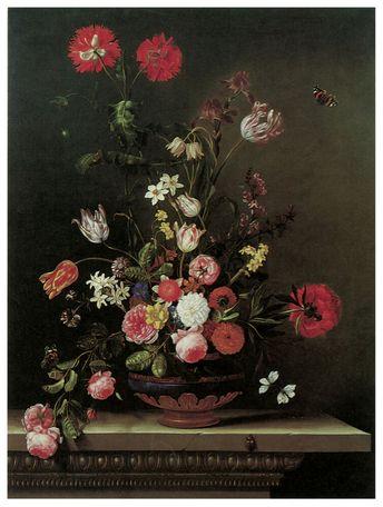 1164 Floral Arraingment Art Decoration POSTER.Graphics to decorate home office  - Canvas Art - Ideas of Canvas Art #canvasart #art #canvas
