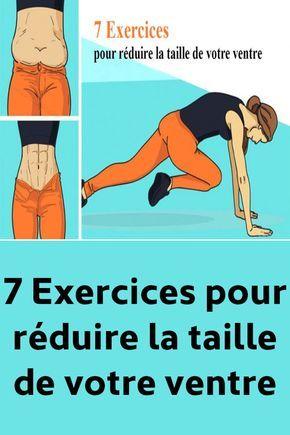 7 Exercices pour réduire la taille de votre ventre