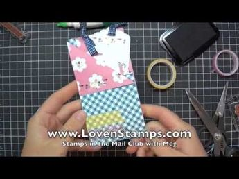 Fun Fold: Double Pocket Card with Bookmark Tags