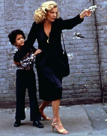 """Gena Rowlands in """"Gloria"""" (1980). Director: John Cassavetes."""