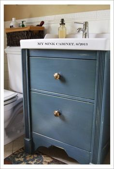 Sink Cabinet Change style