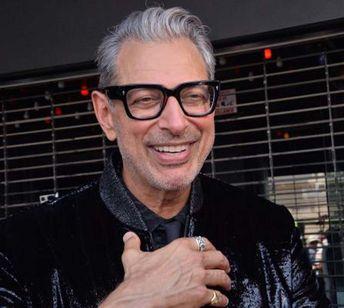 Open-shirt Goldblum statue celebrates 'Jurassic Park' anniversary