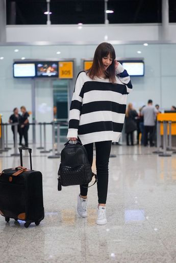 ✈️ AERO LOOK - O que vestir para viajar de avião