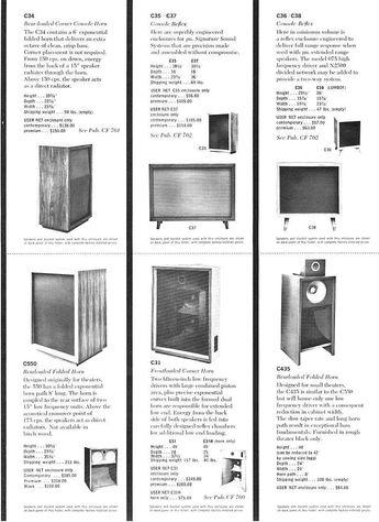 Details about JBL Paragon D44000 Speaker Construction Plan