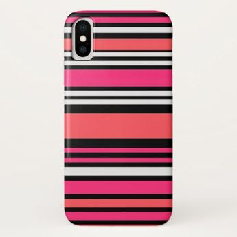 d2da8f21785b Cute Stripes iPhone X Case - girly gift gifts ideas cyo diy special unique