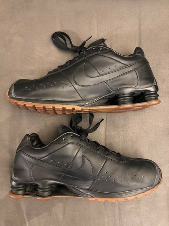 Nike Shox Premium Leather Black Sz 12 309354 002 Air Max 95 #fashion #clothing #shoes #accessories #mensshoes #athleticshoes (ebay link)