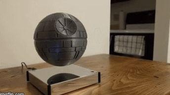 DIY: 3D Printed Levitating Death Star