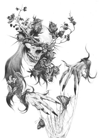 "Tristeza Giclée Print 11 x 14"""